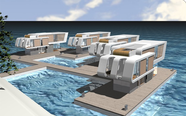 Tropolism Floating Homes